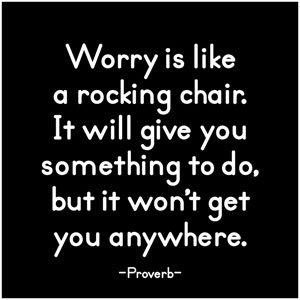 worry is like
