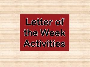 letter week