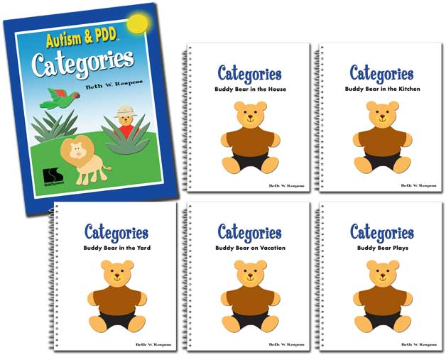 Autism & PDD Categories 5-Book Set, Buddy Bear - http://www.linguisystems.com/products/product/display?itemid=10269